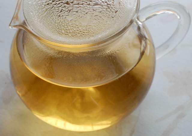 Green Puerh Tuo Cha Teapot 01-25-14