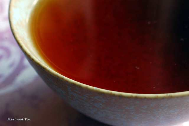 Black TGY Tea Bowl 08-30-14