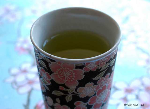 Saemidori Sencha Tea Mug 08-09-14