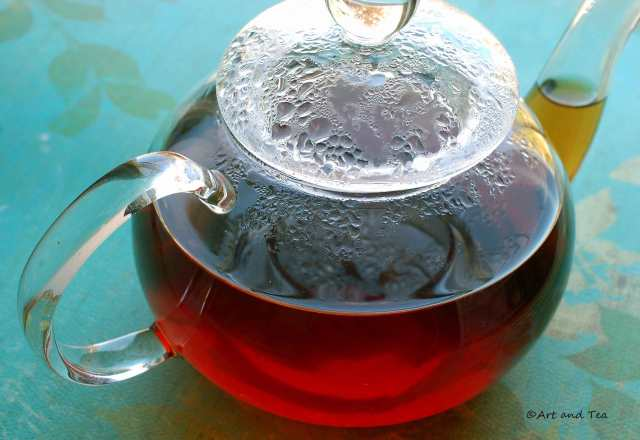 Hong Tao Keemun Teapot 10-25-14