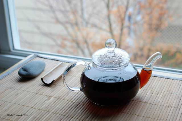 Sticky Rice Pu-Erh Teapot 12-06-14