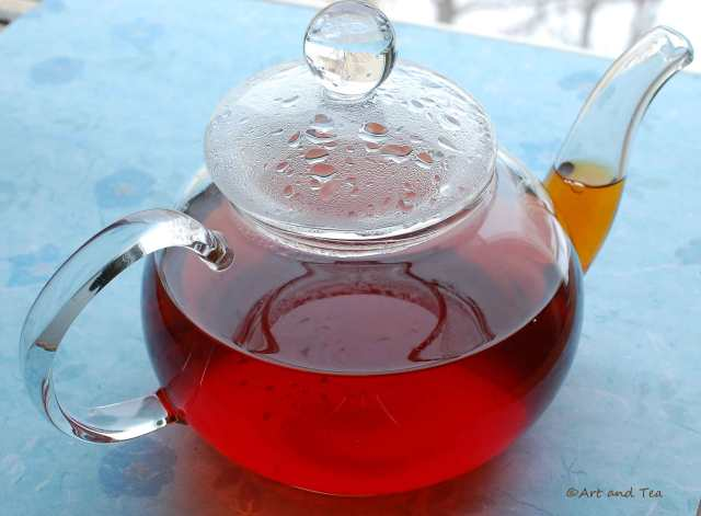 Doomni Estate Assam Teapot 02-07-15